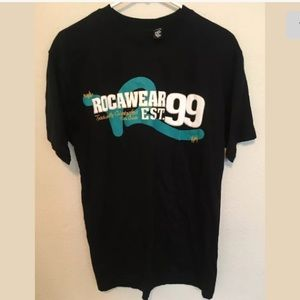 Rocawear Black Large (14/16) Short Sleeve T (r13)